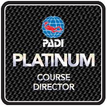 Platinum PADI Course Director - Phuket IDC Thailand